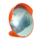 Зеркало сферическое с козырьком ЗС-1000, фото 1