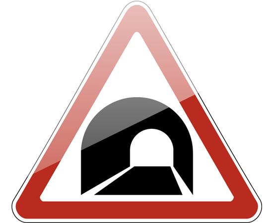 дорожный знак 1.31 Тоннель, фото 1