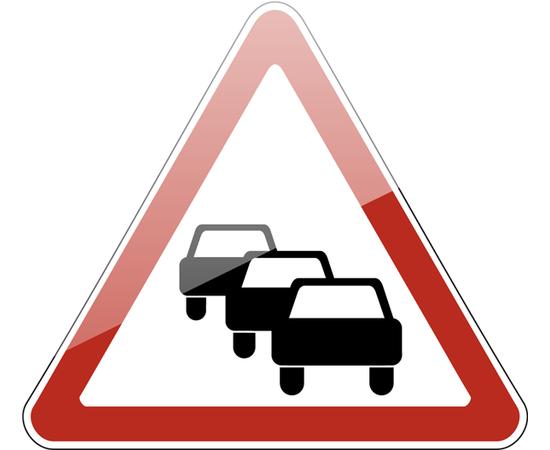 дорожный знак 1.32  Затор, фото 1