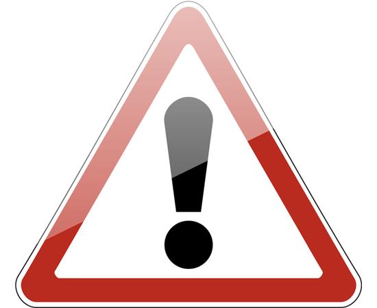 дорожный знак 1.33  Прочие опасности, фото 1
