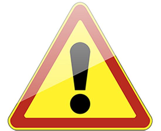 дорожный знак 1.33  Прочие опасности (желтый фон), фото 1
