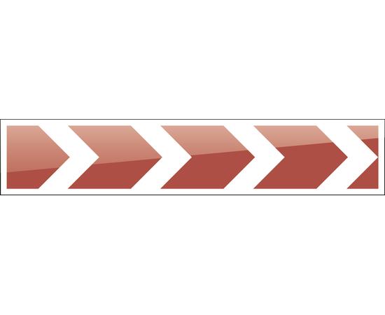 дорожный знак 1.34.1  Направление поворота   2250x500 мм, фото 1