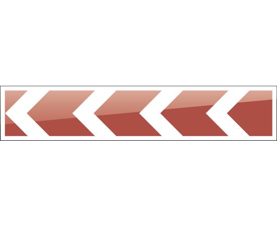 дорожный знак 1.34.2 Направление поворота 2250х500 мм, фото 1