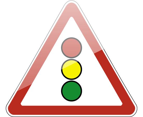 дорожный знак 1.8  Светофорное регулирование, фото 1