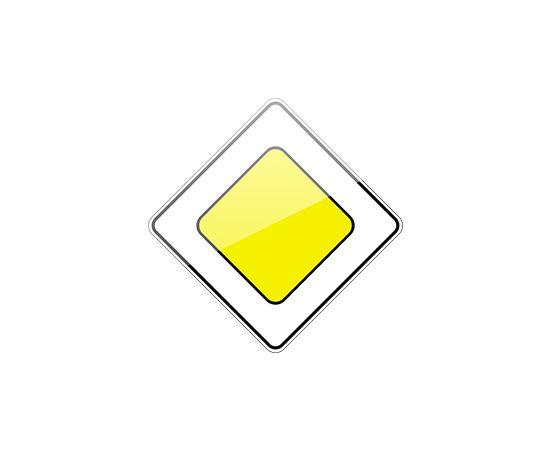 знак дорожный  2.1 Главная дорога, фото 1