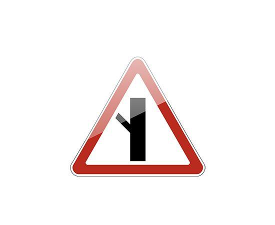 знак дорожный  2.3.5 Примыкание второстепенной дороги, фото 1