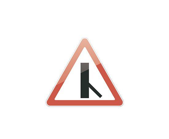 знак дорожный  2.3.6  Примыкание второстепенной дороги, фото 1