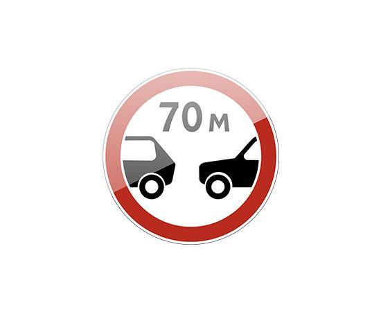 дорожный знак 3.16  Ограничение минимальной дистанции, фото 1