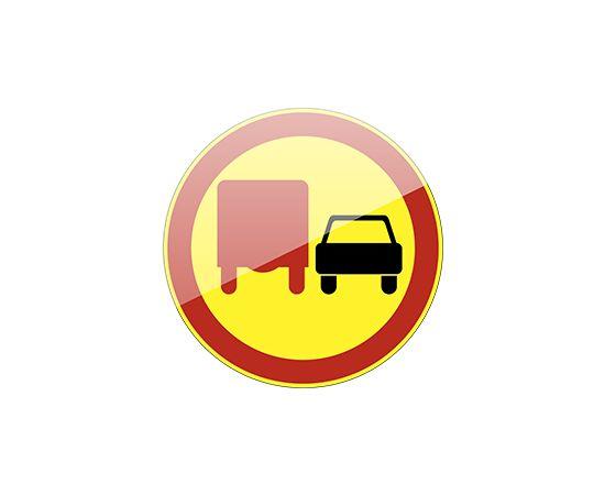 дорожный знак 3.22 Обгон грузовым автомобилям запрещен, фото 1
