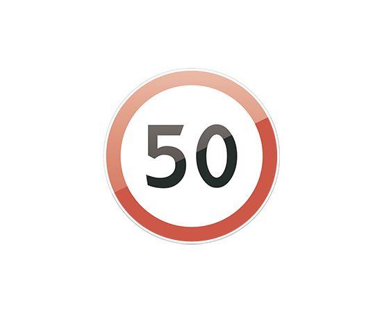 дорожный знак 3.24  Ограничение максимальной скорости, фото 1
