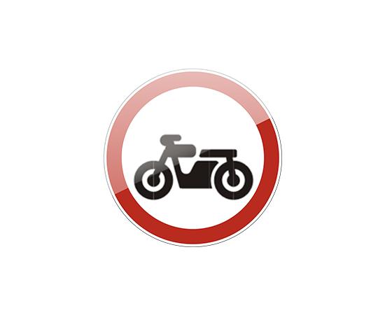 дорожный знак 3.5  Движение мотоциклов запрещено, фото 1