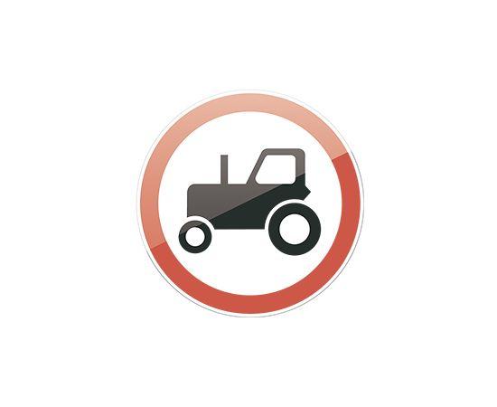 дорожный знак 3.6  Движение тракторов запрещено, фото 1