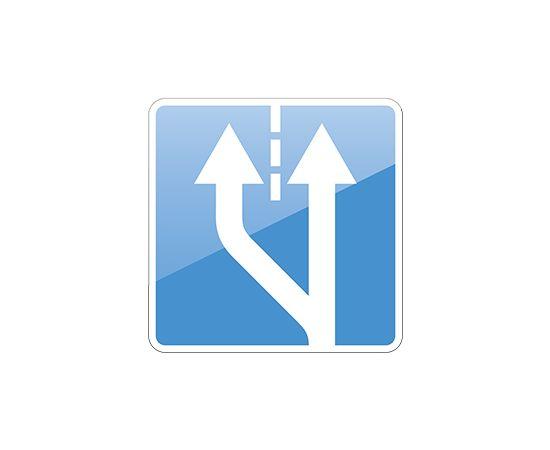 дорожный знак 5.15.4  Начало полосы, фото 1