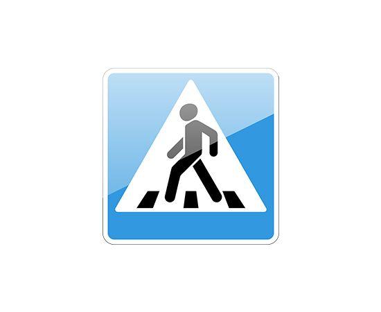 знак дорожный 5.19.1 Пешеходный переход, фото 1