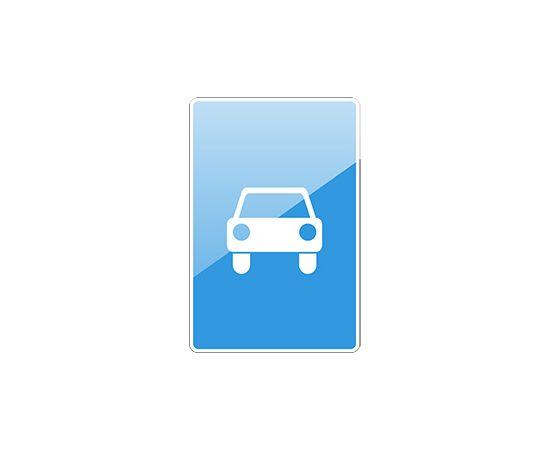 дорожный знак 5.3  Дорога для автомобилей, фото 1