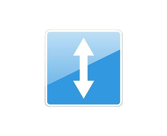 дорожный знак 5.8  Реверсивное движение, фото 1