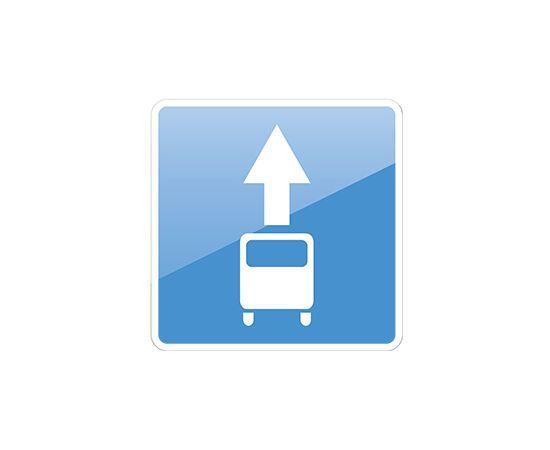 дорожный знак 5.14  Полоса для маршрутных транспортных средств, фото 1