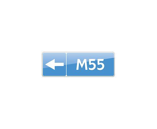дорожный знак 6.14.2  Номер маршрута, фото 1