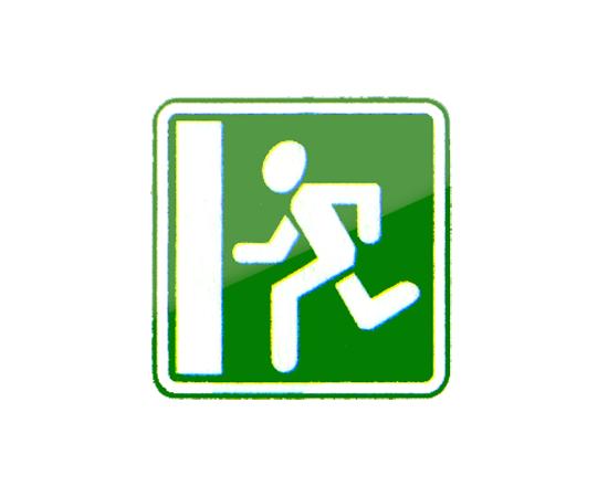 дорожный знак 6.20.1  Аварийный выход, фото 1