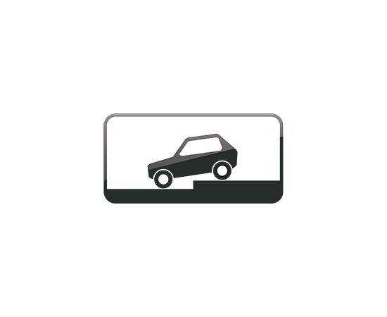 дорожный знак 8.6.6  Способ постановки транспортного средства на стоянку, фото 1