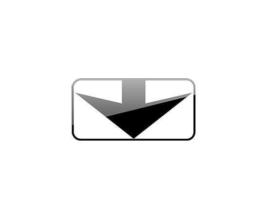 дорожный знак 8.14  Полоса движения, фото 1