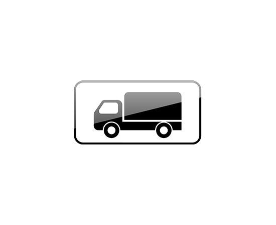 дорожный знак 8.4.1  Вид транспортного средства, фото 1