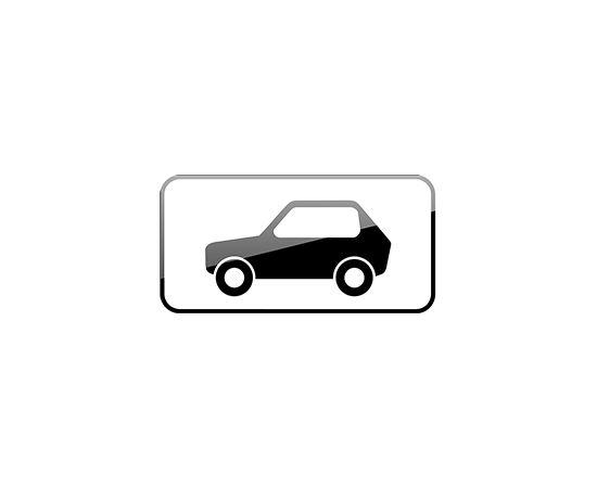 дорожный знак 8.4.3  Вид транспортного средства, фото 1