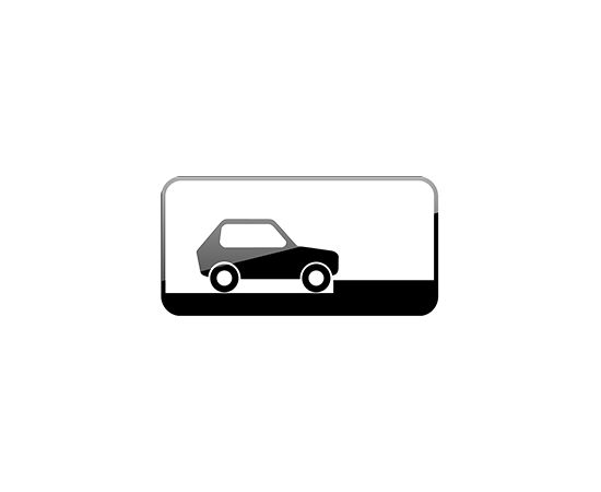 дорожный знак 8.6.5  Способ постановки транспортного средства на стоянку, фото 1