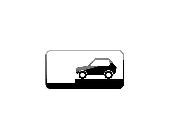 дорожный знак 8.6.8  Способ постановки транспортного средства на стоянку, фото 1