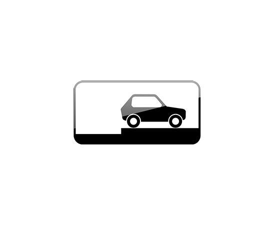 дорожный знак 8.6.9  Способ постановки транспортного средства на стоянку, фото 1