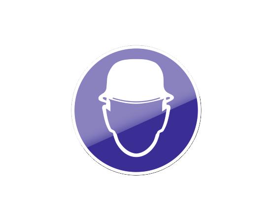 знак М 02 Работать в защитной каске (шлеме), фото 1