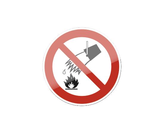 знак P 04 Запрещается тушить водой, фото 1