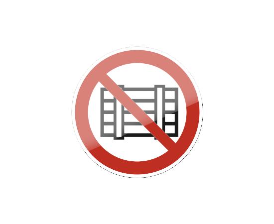 знак P 12 Запрещается загромождать проходы и (или) складировать, фото 1