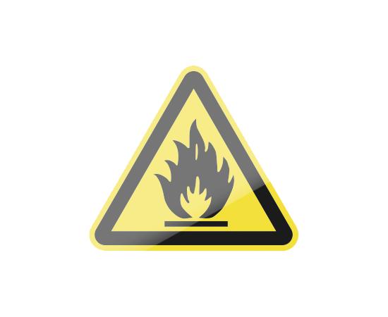 знак W01 Пожароопасно. Легковоспламеняющиеся вещества, фото 1