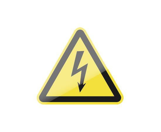 знак W08 Опасность поражения электрическим током, фото 1