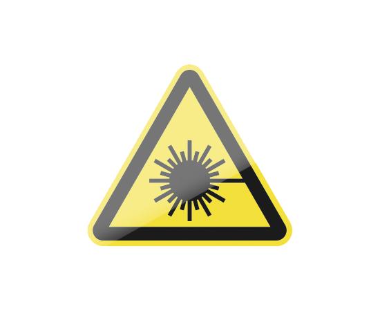 знак W10 Опасно. Лазерное излучение, фото 1