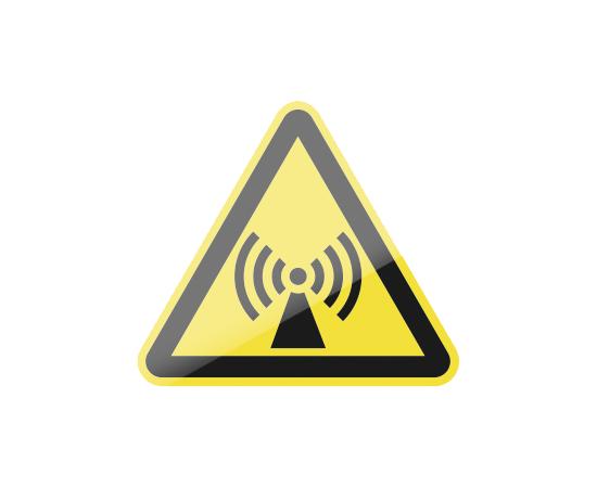 знак W12 Внимание. Электромагнитное поле, фото 1