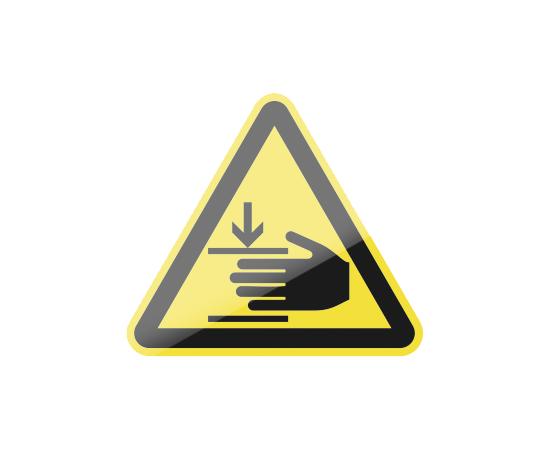 знак W27 Осторожно.  Возможно травмирование рук, фото 1