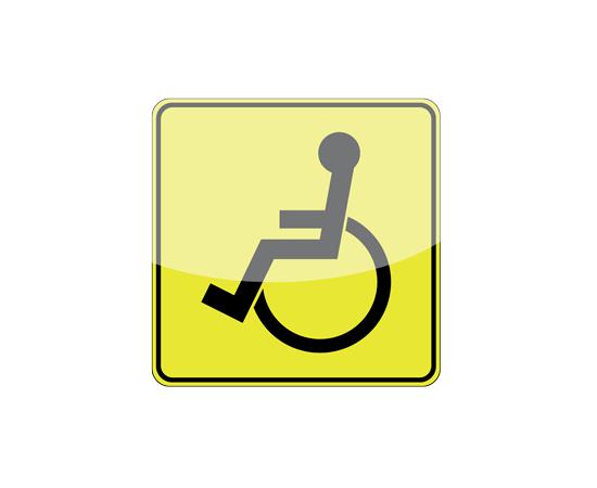 Опознавательный знак Инвалид, фото 1