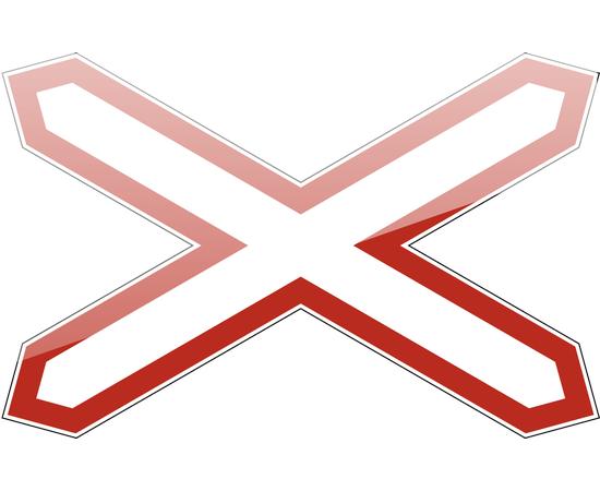 Знак Однопутная железная дорога, фото 1
