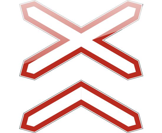 Знак Многопутная железная дорога, фото 1