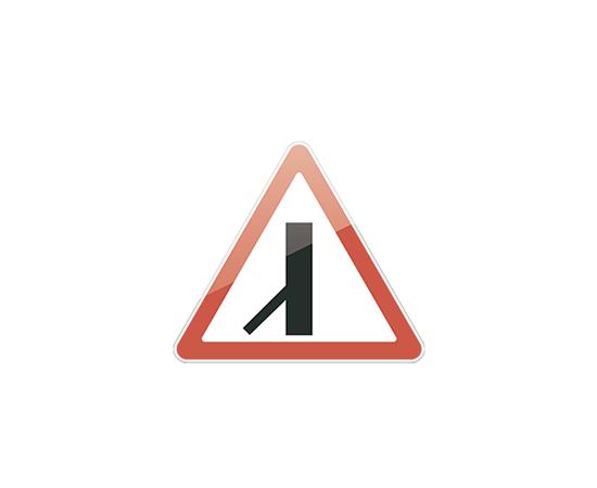 знак дорожный  2.3.7 Примыкание второстепенной дороги, фото 1