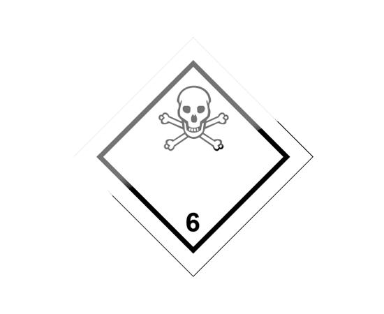 Знак опасности 6 класса ( 6.1 ), фото 1