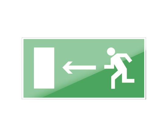 знак Е 04 Направление к эвакуационному выходу налево, фото 1