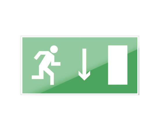 знак Е 09 Указатель двери эвакуационного выхода (правосторонний), фото 1