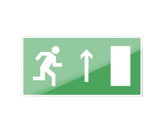 знак Е 11 Направление к эвакуационному выходу прямо, фото 1