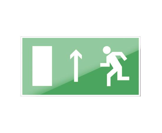 знак Е 12 Направление к эвакуационному выходу прямо, фото 1