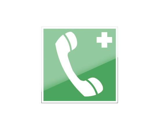 знак ЕC 06 Телефон связи с медицинским пунктом (скорой медицинской помощью), фото 1