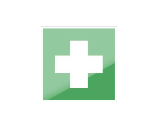знак ЕC 01 Аптечка первой медицинской помощи, фото 1
