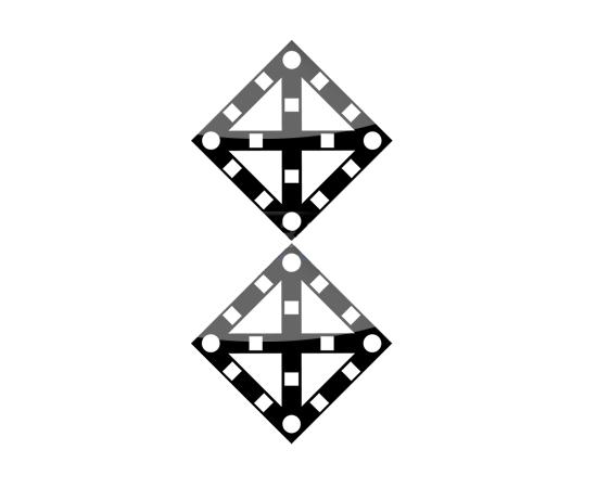 знак Поднять нож, закрыть крылья (два препятствия), фото 1